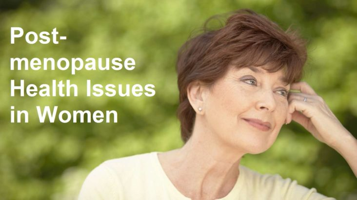 postmenopause health in women