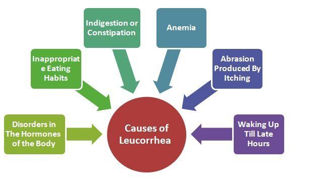 Causes of Leucorrhea