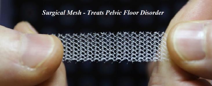 Surgical Mesh - Treats Pelvic Floor Disorder